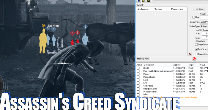 assassins creed syndicate cheats