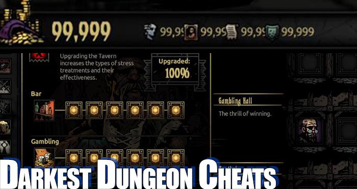 скачать читы на darkest dungeon