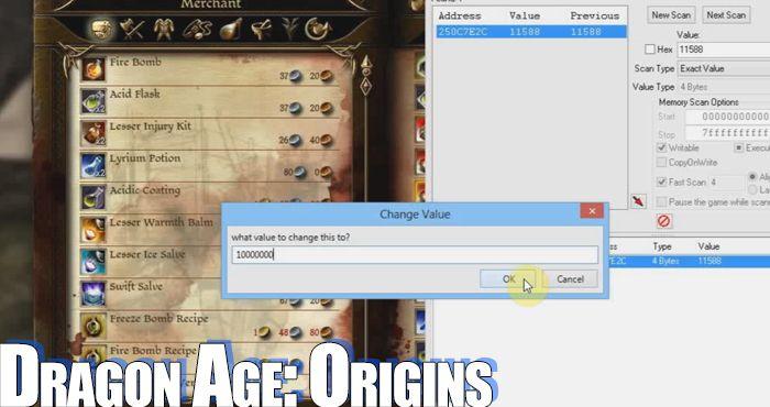 скачать трейнер для Dragon Age Origins - фото 7