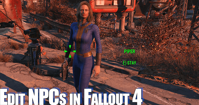 fallout 4 console character edit