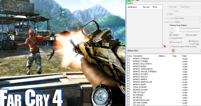 Cheat For Far Cry Game