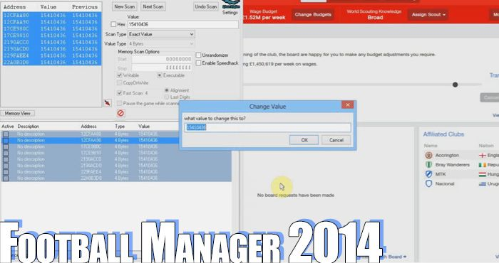 football manager 2014 trainer