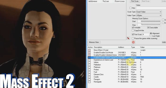 trucchi mass effect 3 pc trainer