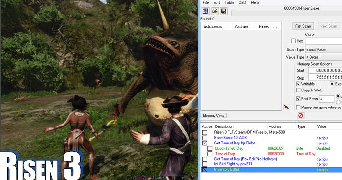 Risen 3 Trainers and Cheats