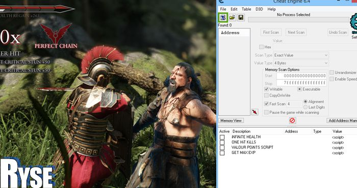 ryse son of rome trainer