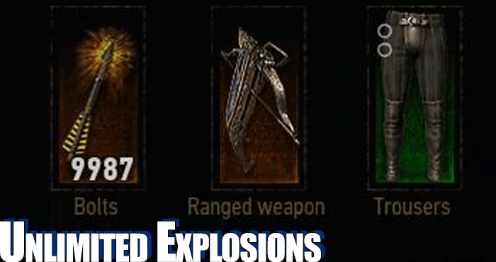 witcher 3 unlimited explosions