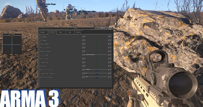 ARMA 3 (including Apex) Hacks, Cheats and Aimbots