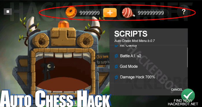 Auto Chess Hack Mods, Bots, Mod Menus and Cheat Tools for