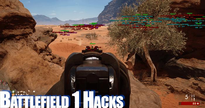 Battlefield 1 (BF1) Hacks, Aimbots and Cheats
