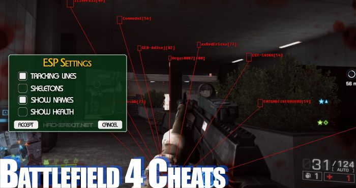 Battlefield 4 (BF4) Hacks, Aimbots and other Cheats