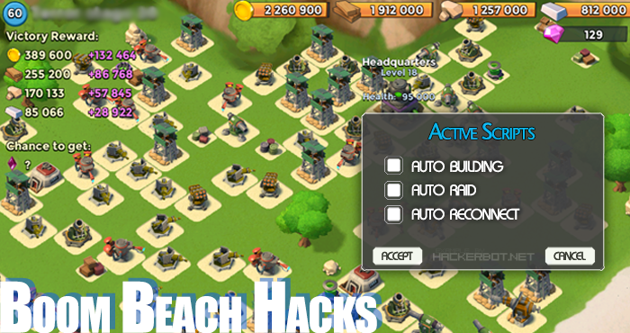 Boom beach hack cheats online get unlimited gold, diamonds.