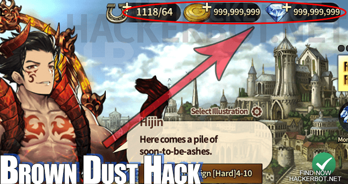 brown dust hack