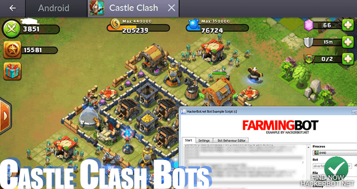 how to play castle clash