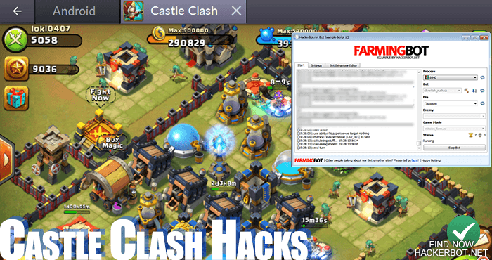 castle clash hack android  no survey