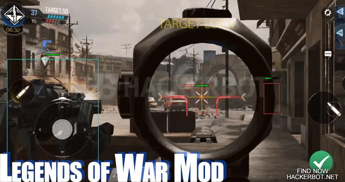 cod legends of war mod