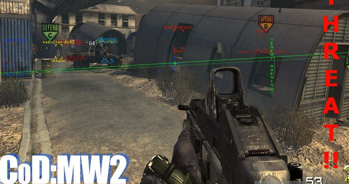 cod mw2 level hack pc