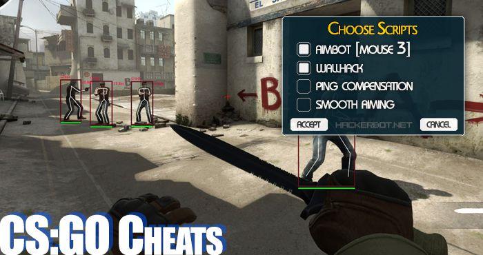 cs go cheat aimbot wallhack