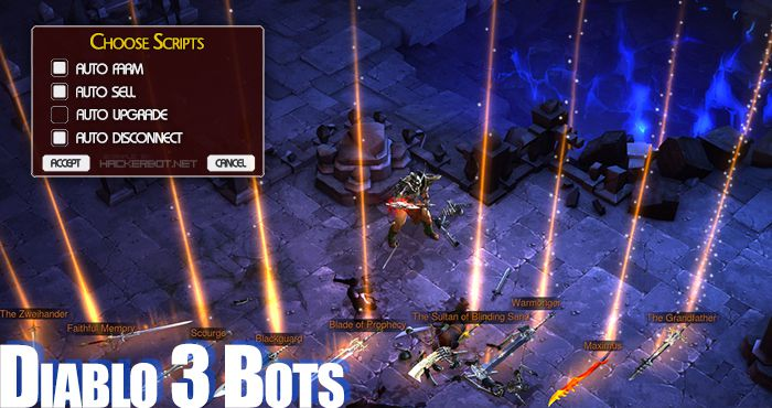 Diablo iii (d3) cheats, hacks and farming bots.