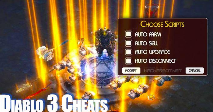 Diablo III (D3) Cheats, Hacks and Farming Bots
