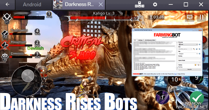 Darkness Rises Mods, Hacks, Bots and other Cheats for Android / iOS