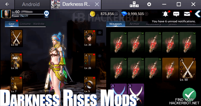 darkness rises mods download