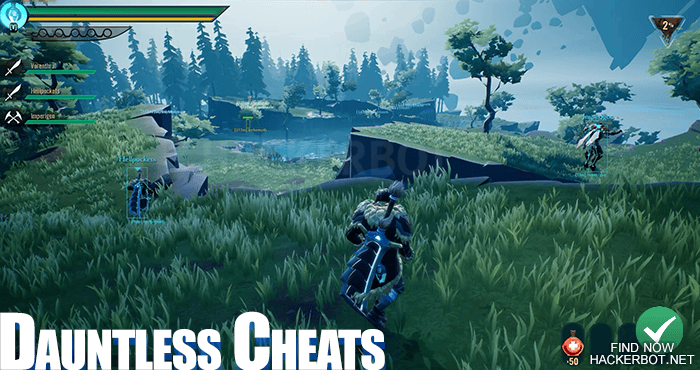 dauntless cheat