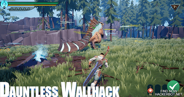 dauntless wallhack