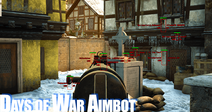 days of war aimbot free auto aim