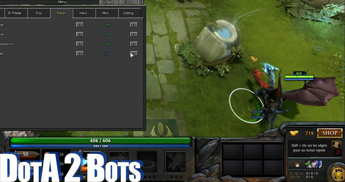 dota 2 hacks cheats and bots