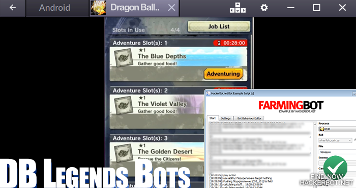 dragon ball legends crystal zeni farm bot
