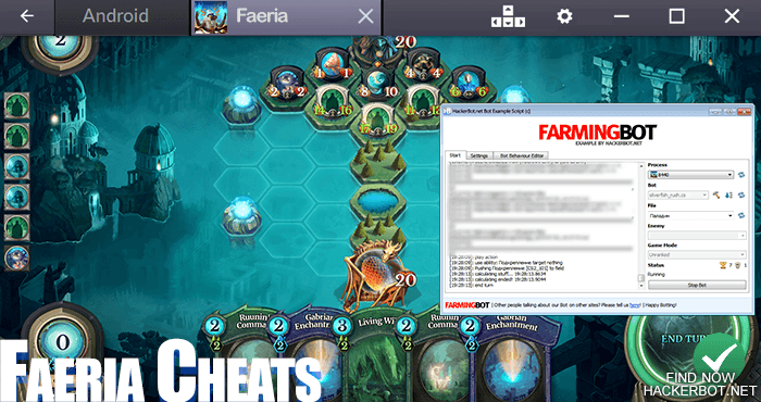 faeria cheats