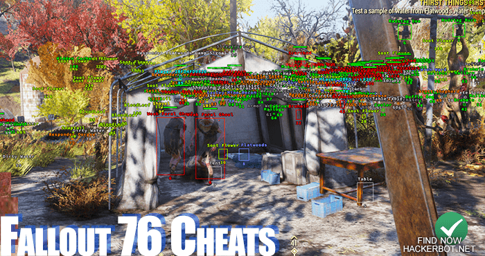 Fallout 76 Hacks, Aimbots, Wallhacks, Mods and Cheats for PC / PS4