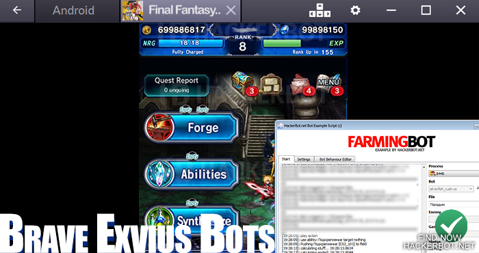 ffbe bot cheat