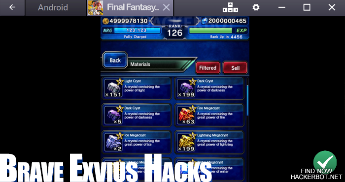 final fantasy brave exvius hack mod