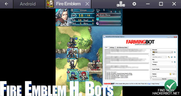 fire emblem heroes bot software download