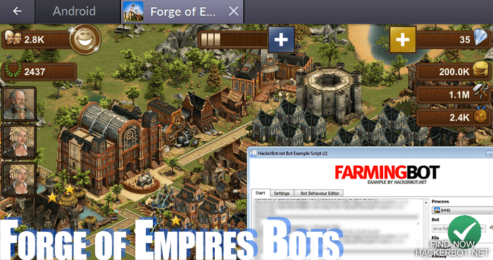 Forge of Empires Hacks, Mods, Bots and other Cheats for