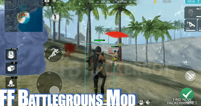 free fire battlegrounds hack mod
