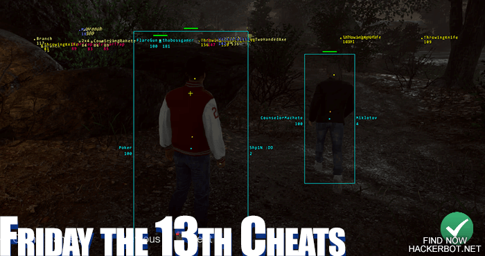 friday the 13th the game cheat