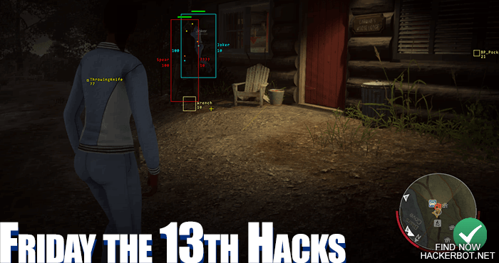 friday the 13th the game hack