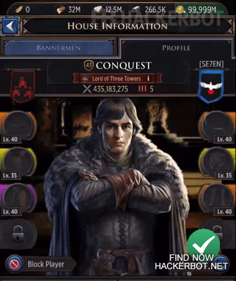 Game of Thrones Conquest Mod Menu, Hacks, Bots and other Cheats for