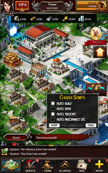 Game of War Hacks, Bots and other Cheats