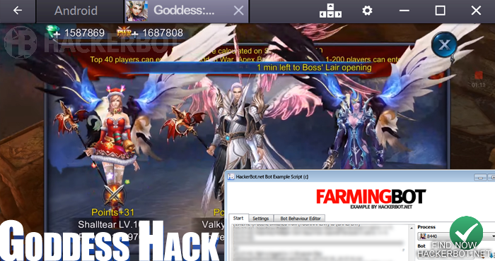 goddess pc hack app