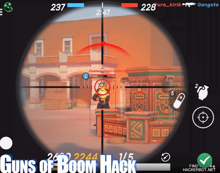 Guns of Boom Hacks, Aimbots, Mod Menu and Wallhack Cheats