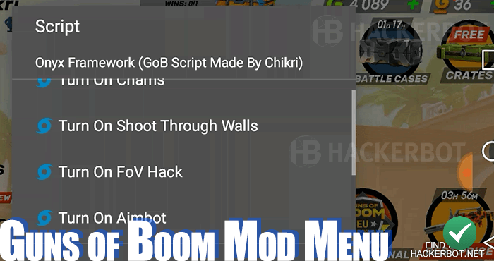 guns of boom mod menu