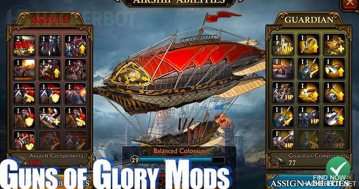 guns of glory mod android ios