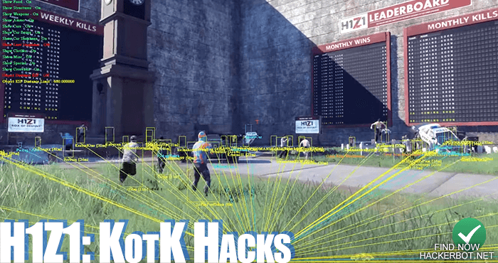 h1z1 king of the kill hack download