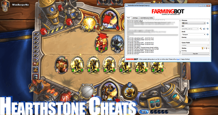 hearthstone cheat auto gold farm
