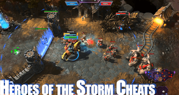 heroes of the storm cheats