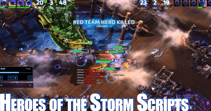 heroes of the storm scripts-bots