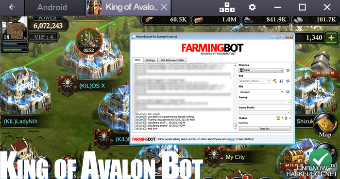 King of Avalon: Dragon Warfare Hacks, Mods, Bots and other